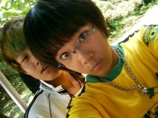 Hongki with wonbin